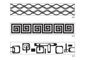 Xiem Tools Art Rollers Mini Set D With Handle