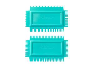 Xiem Tools Ultimate Texture Comb B Set (Set of 2) Flex Soft
