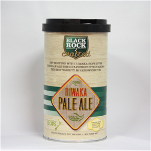 Black Rock Crafted NZ Riwaka Pale Ale 1.7kg
