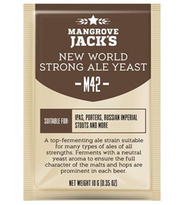 Yeast M42 New World Strong Ale