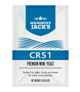 Wine Yeast - CR51 8g