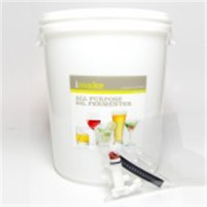 30L Plastic Barrel (bucket-style fermenter) Pack