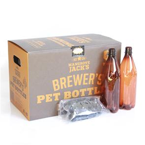 750ml PET Bottles x15