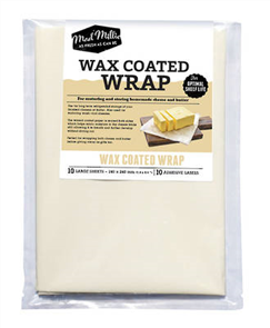 Wax Coated Paper 240x240 10 Pack