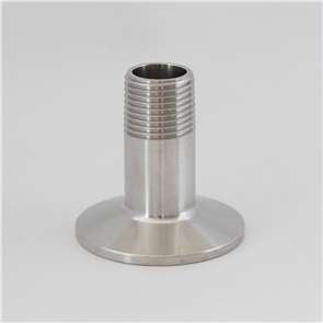 """1.5"""" Tri Clover to 1/2"""" BSP Male Adapter"""