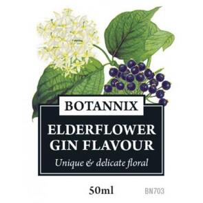 Gin Flavour Elderflower, 50ml