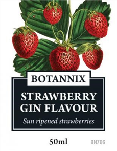 Gin Flavour Strawberry, 50ml