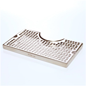 Stainless Steel Drip Tray with Cut Out