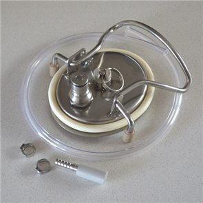 Keg Carbonation Lid with PRV & Silicon O-Ring