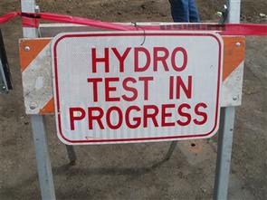 CO2 Cylinder Hydrostatic Test