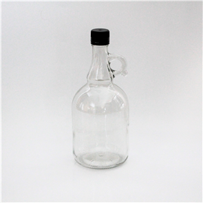 Glass Spirit Bottle 1L