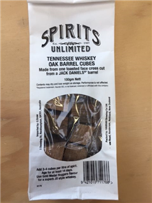 Spirits Unlimited Tennessee Whiskey Cubes 100g
