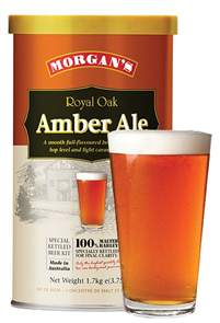 Morgan's Royal Oak Amber Ale 1.7KG