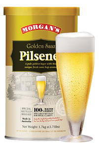 Morgan's Golden Saaz Pilsener 1.7KG