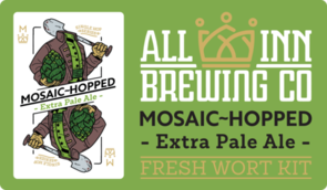 Single Hop Mosaic Wort 15 Litres
