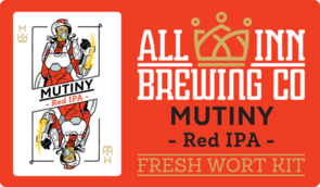 Mutiny Red IPA Wort 15 Litres