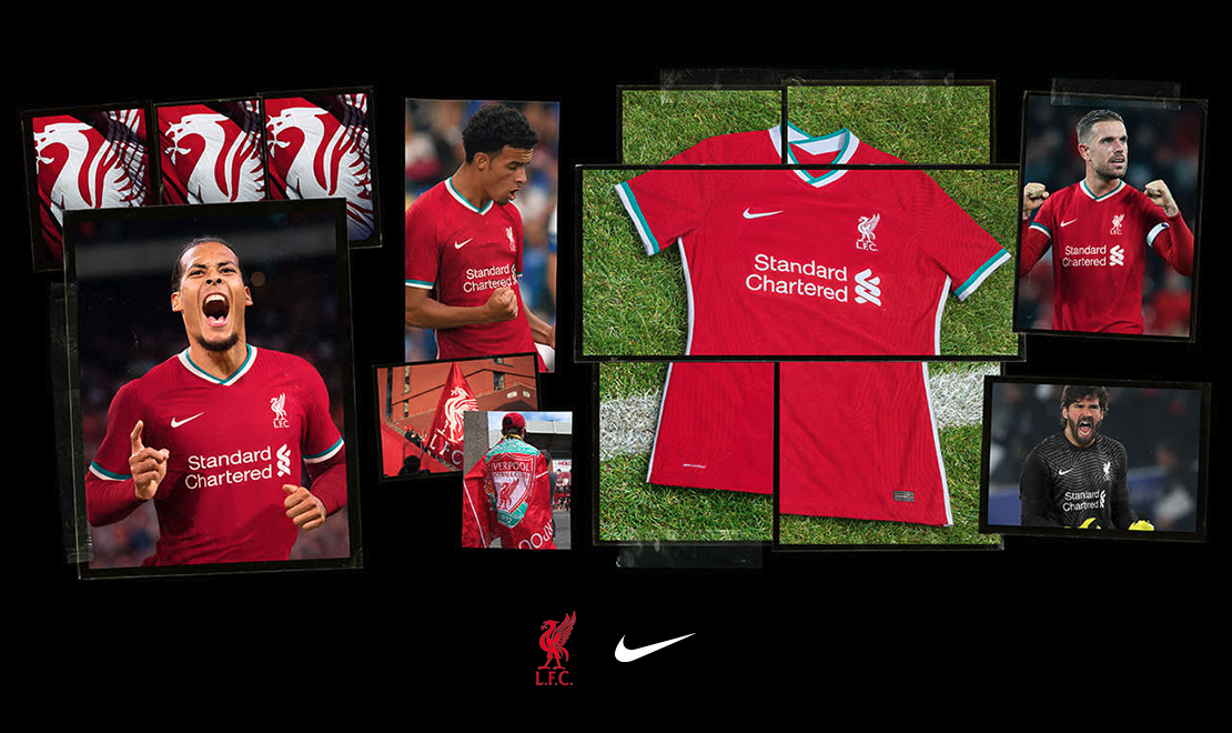 Liverpool 2020/21 Home Shirt