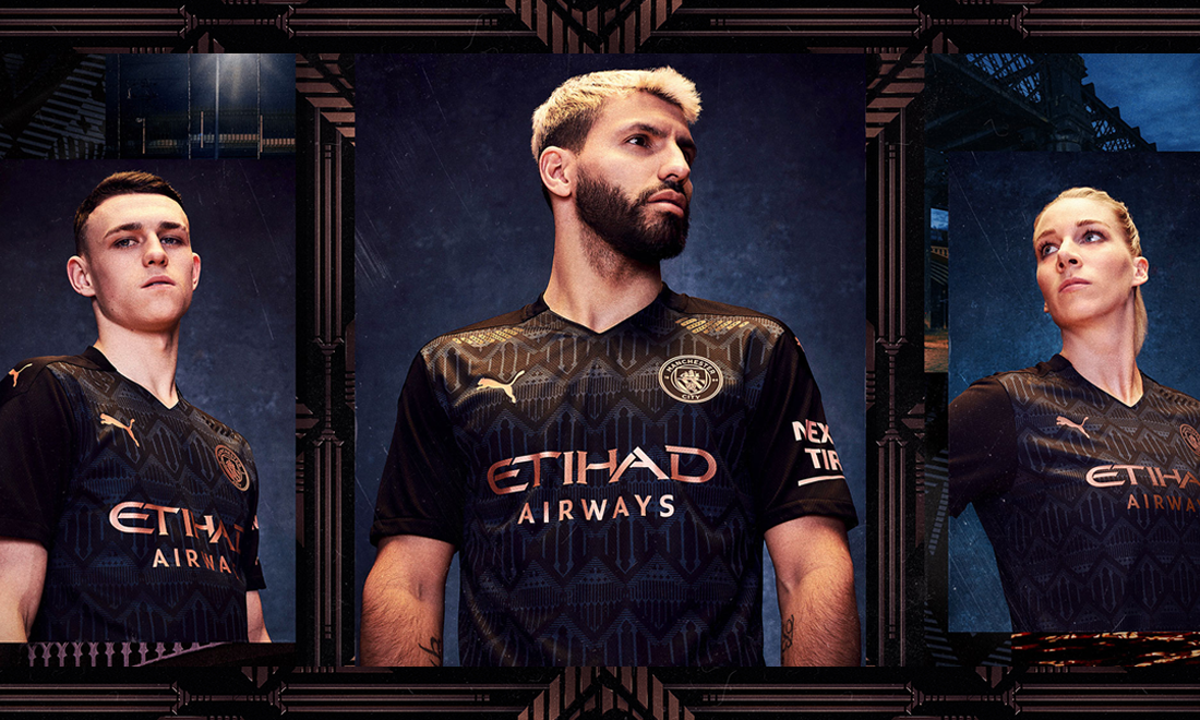 Manchester City Away 20/21 Shirt