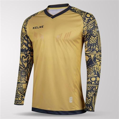super popular 5f481 65dd2 Kelme Guardameta Long Sleeve GK Jersey – Gold   The ...
