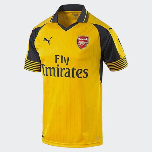 good b0906 cf927 Puma 2016-17 Arsenal Away Shirt   The Soccer Shop