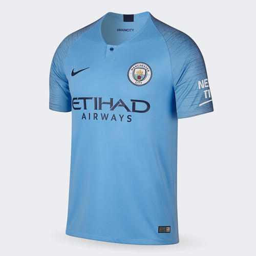 brand new 690c6 50b33 Nike 2018-19 Manchester City Home Shirt | The Soccer Shop