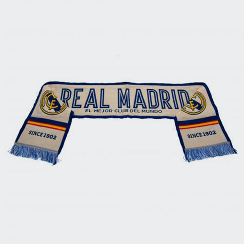 new product c04d4 1ffef Real Madrid Scarf | The Soccer Shop