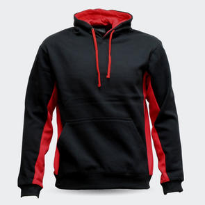 TSS Matchpace Hoodie – Black/Red