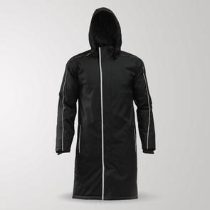 TSS Long Sideline Jacket – Black