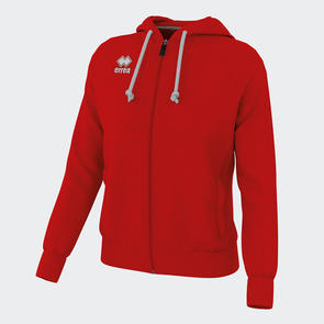 Erreà Women's Wita Full-Zip Hoodie – Red