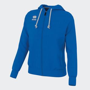 Erreà Women's Wita Full-Zip Hoodie – Blue