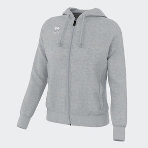 Erreà Women's Wita Full-Zip Hoodie – Grey