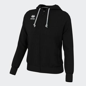 Erreà Women's Wita Full-Zip Hoodie – Black
