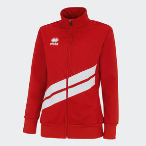 Erreà Women's Jessy Track Jacket – Red/White