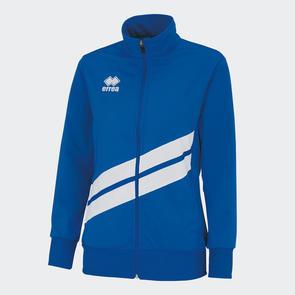 Erreà Women's Jessy Track Jacket – Blue/White