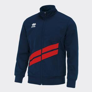 Erreà Jim Track Jacket – Navy/Red