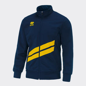 Erreà Jim Track Jacket – Navy/Yellow