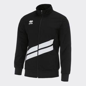 Erreà Jim Track Jacket – Black/White