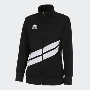 Erreà Women's Jessy Track Jacket – Black/White