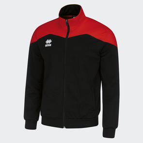 Erreà Garric Track Jacket – Black/Red