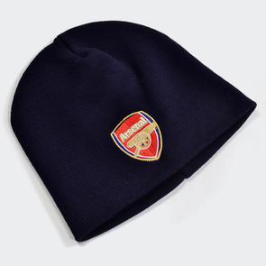 Arsenal Knitted Hat – Navy