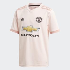 adidas Junior 2018-19 Manchester United Away Shirt