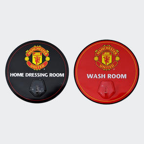 Manchester United Robe Hook Sign (2 Pack)