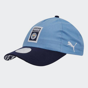 Puma Manchester City DNA Fan Cap - Sky/Navy