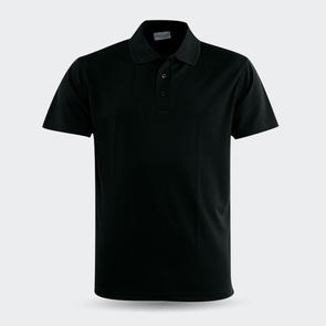 TSS Breezway Plain Polo – Black