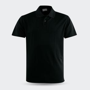 TSS Breezway Plain Polo – Black