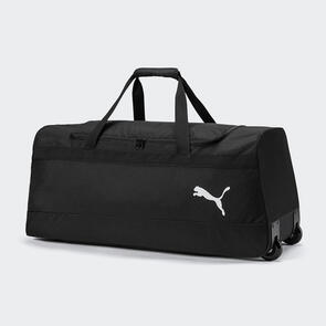 Puma teamGOAL Wheelbag Large – Black/White