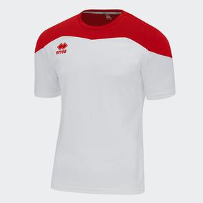 Erreà Gareth Shirt – White/Red