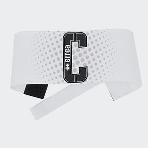 Erreà Junior Fascia Captain's Armband 16 – White/Black