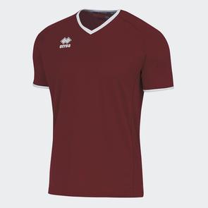 Erreà Lennox Shirt – Maroon/White