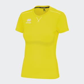 Erreà Women's Marion Training Shirt – Yellow Fluro